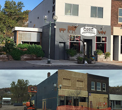 OMC Smokehaus Before & After
